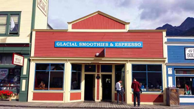 Frifotos - Entrances, Glacial Smoothies & Espresso, Skagway, Alaska