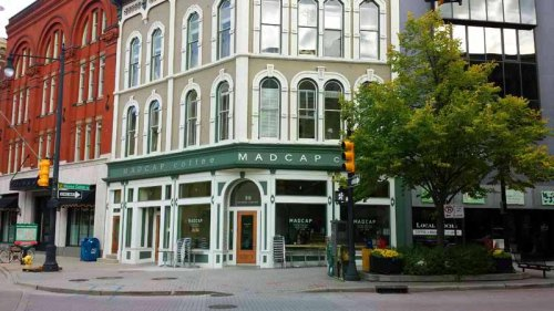 Frifotos - Entrances, MadCap Coffee Company, Grand Rapids, Michigan