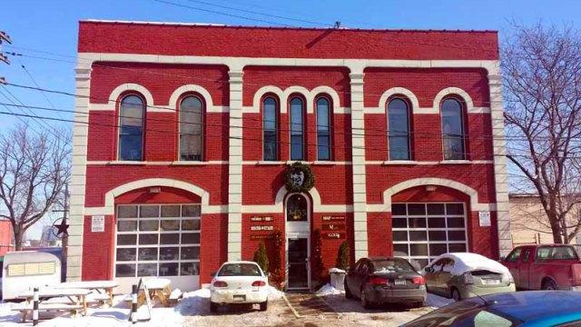 Frifotos - Entrances, Rising Star Coffee Roasters, Cleveland, Ohio