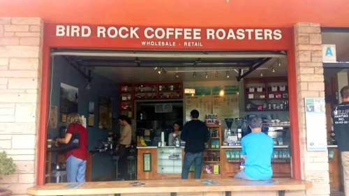 Frifotos - Entrances, Bird Rock Coffee Roasters, La Jolla, San Diego