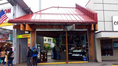 Frifotos - Entrances, Good Coffee Company, Ketchikan, Alaska