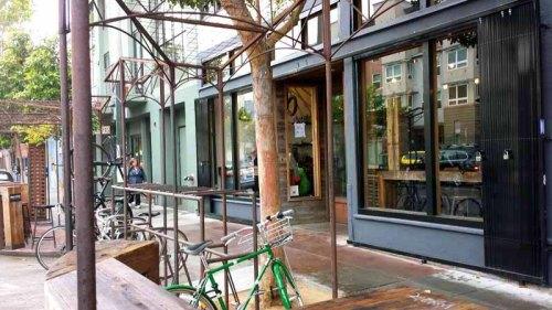 Frifotos - Entrances, Four Barrel Coffee, San Francisco, California