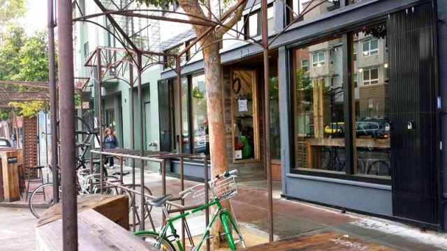 Frifotos - Entrances, Four Barrel Coffee, San Francisco, California