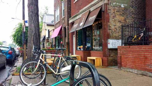 Frifotos - Entrances, Ipsento Coffee, Bucktown, Chicago