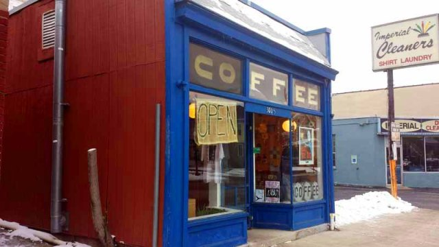 Frifotos - Entrances, Yeah, Me Too coffee, Columbus, Ohio