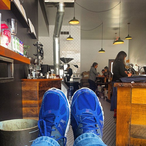 Frifotos - Solitude - Rowster Coffee in Grand Rapids, Michigan