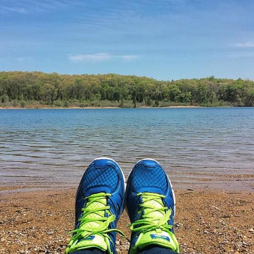Frifotos - Solitude - Appleton Lake near Brighton, Michigan