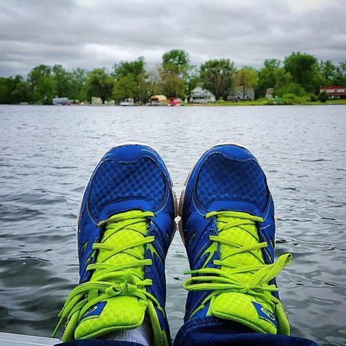 Frifotos - Solitude - Runyan Lake in Fenton, Michigan