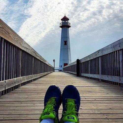 Frifotos - Solitude - Wawatam Lighthouse in St. Ignace, Michigan