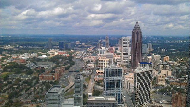 Frifotos, urban skyline, Atlanta