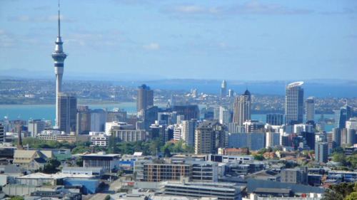 Frifotos, urban skyline, Auckland, New Zealand