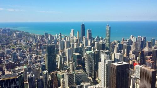 Frifotos, urban skyline, Chicago