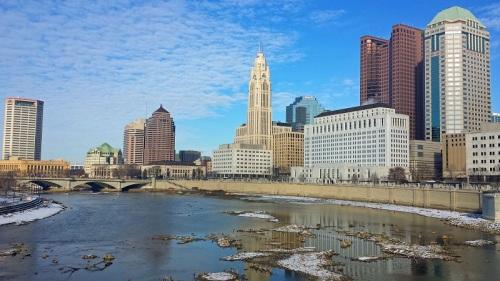 Frifotos, urban skyline, Columbus, Ohio