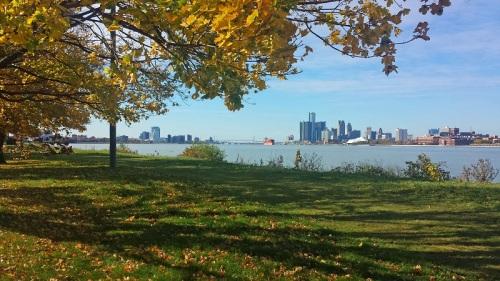 Frifotos, urban skyline, Detroit, Windsor