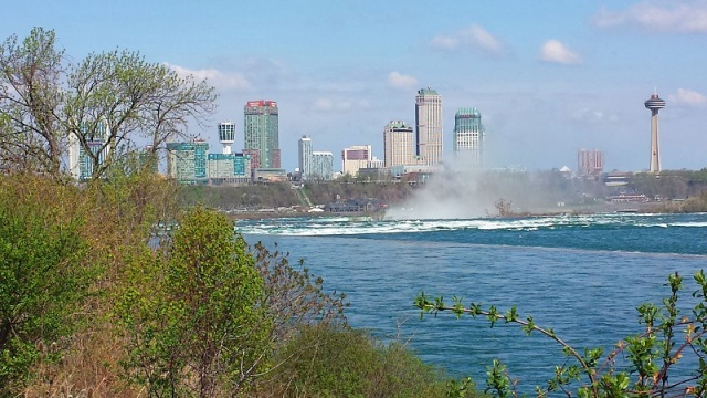 Frifotos, urban skyline, Niagara Falls