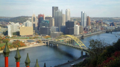 Frifotos, urban skyline, Pittsburgh