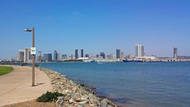 Frifotos, urban skyline, San Diego