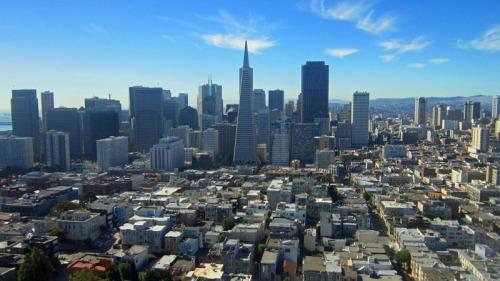 Frifotos, urban skyline, San Francisco