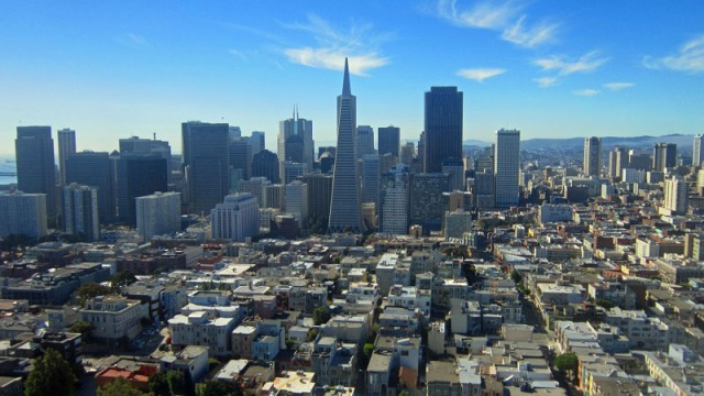 Frifotos, urban skyline, San Francisco
