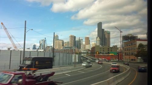 Frifotos, urban skyline, Seattle