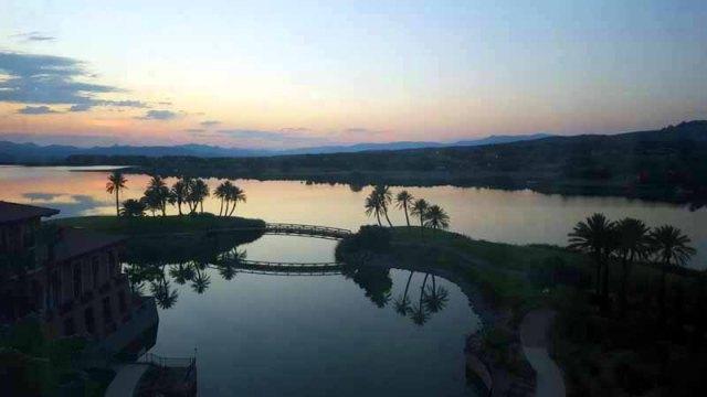 Frifotos - Backyard - Lake Las Vegas, Nevada