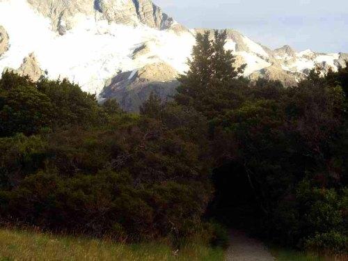 Kea Point Trail, Mount Cook Village, New Zealand