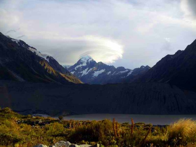 Kea Point Trail, Mount Cook Village, New Zealand