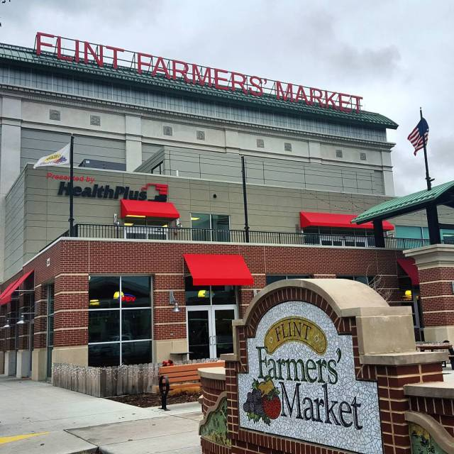 Flint Farmers' Market, Michigan