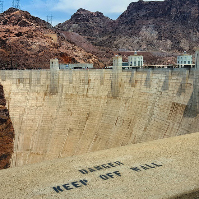 Hoover Dam in Nevada and Arizona