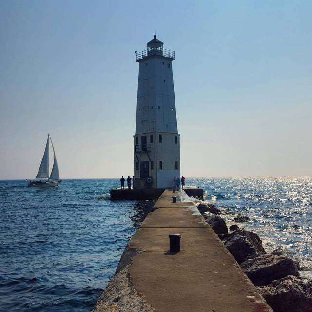 Frankfort Light, Michigan