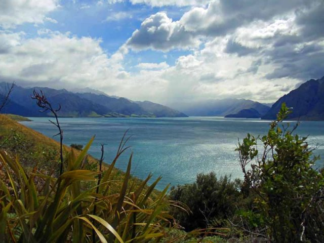 Lake Hawea, South Island, New Zealand