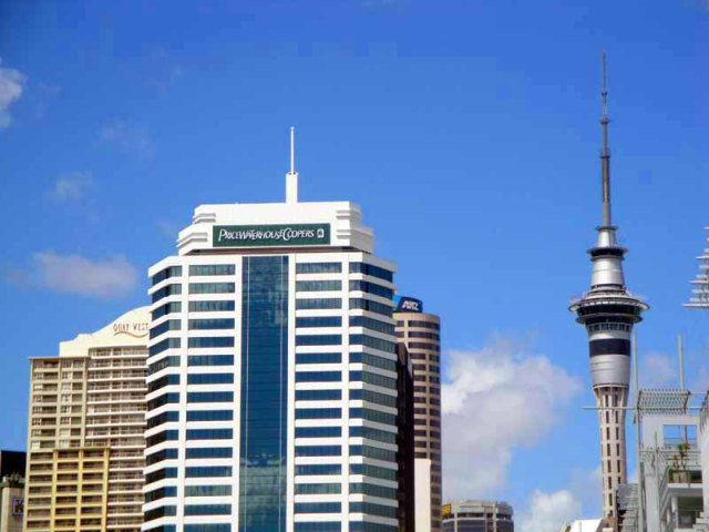 Auckland, New Zealand skyline - SkyTower