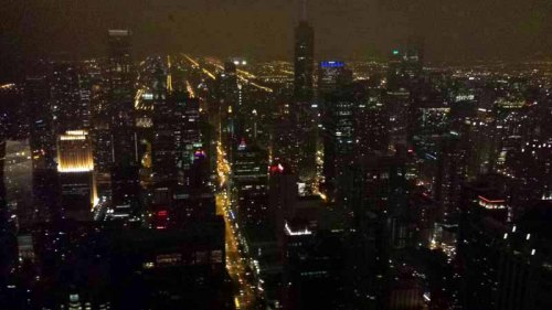 Chicago skyline up-top John Hancock building 360 Chicago