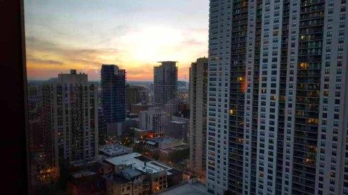 Chicago skyline from Vertigo Sky Lounge