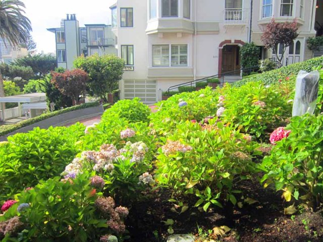 San Francisco, California housing - Lombard Street