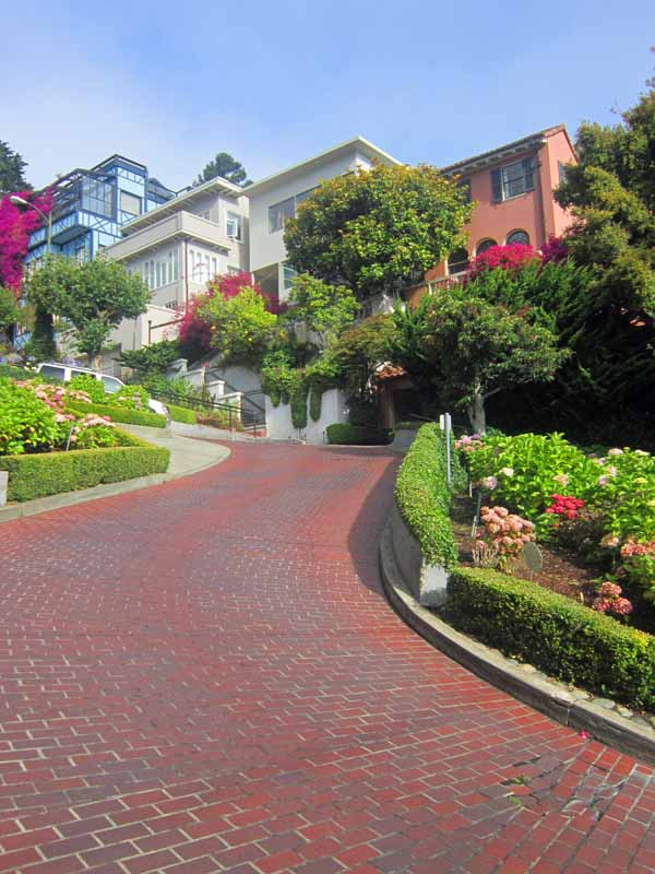 San Francisco, California - Lombard Street