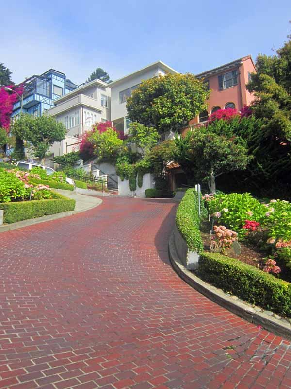 San Francisco, California - Lombard Street
