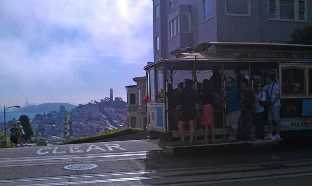 San Francisco, Cable Car & Lombard Street