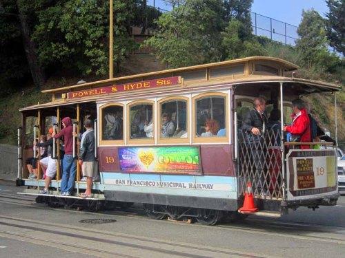 San Francisco, Cable Car & Lombard Street