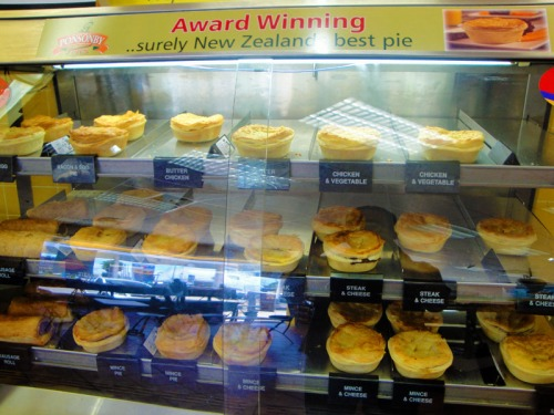 New Zealand meat pies