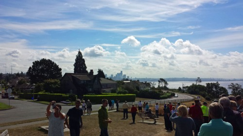 Seattle skyline from the Magnolia neighborhood