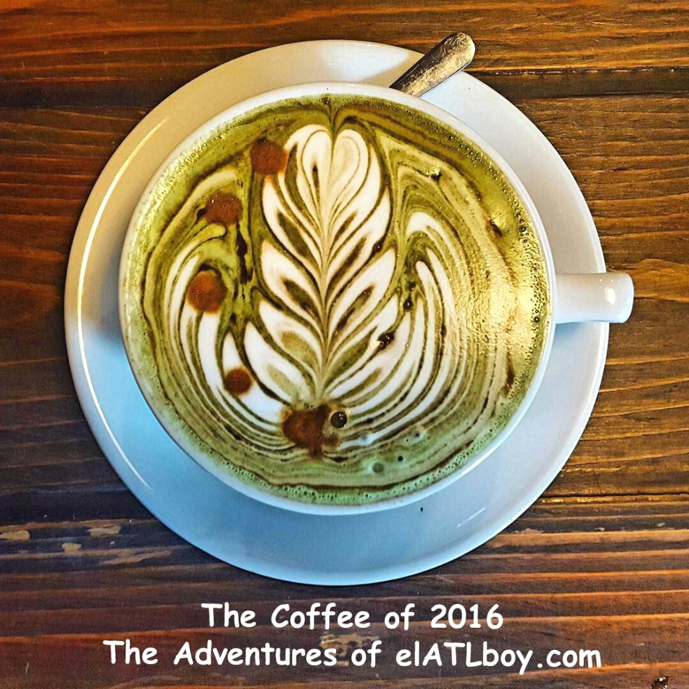 Coffee of 2016 - Military Latte from Sawada Coffee in Chicago