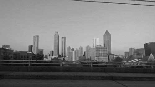 Atlanta skyline from Old Fourth Ward neighborhood