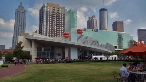 Atlanta skyline from World of Coca-Cola