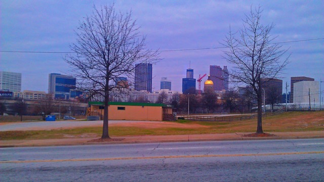 Atlanta skyline from near Turner Field