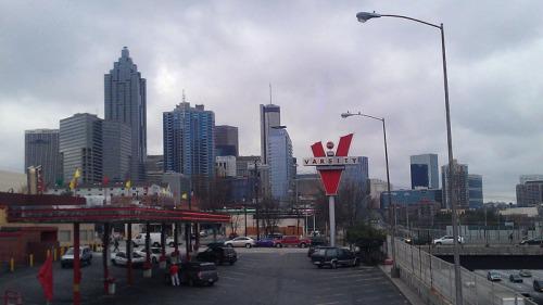 Atlanta skyline - from The Varsity
