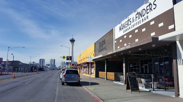 Makers & Finders Coffee, Arts District, Downtown Las Vegas