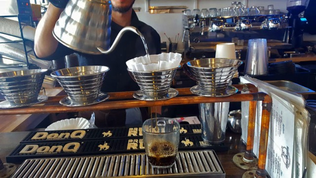 Makers & Finders Coffee, Arts District, Downtown Las Vegas, pour over coffee