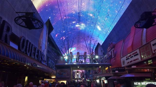 Fremont Street Experience - Viva Vision Light Show