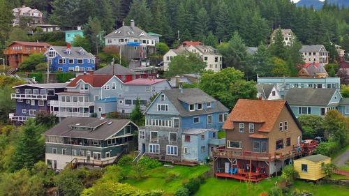 Ketchikan, Alaska from the Celebrity cruise ship